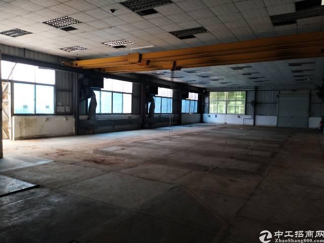 石岩外环路新出一楼带行车高度6米厂房6000平招租