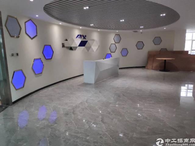 宝安西乡碧海湾地铁口附近精装修办公室1000平
