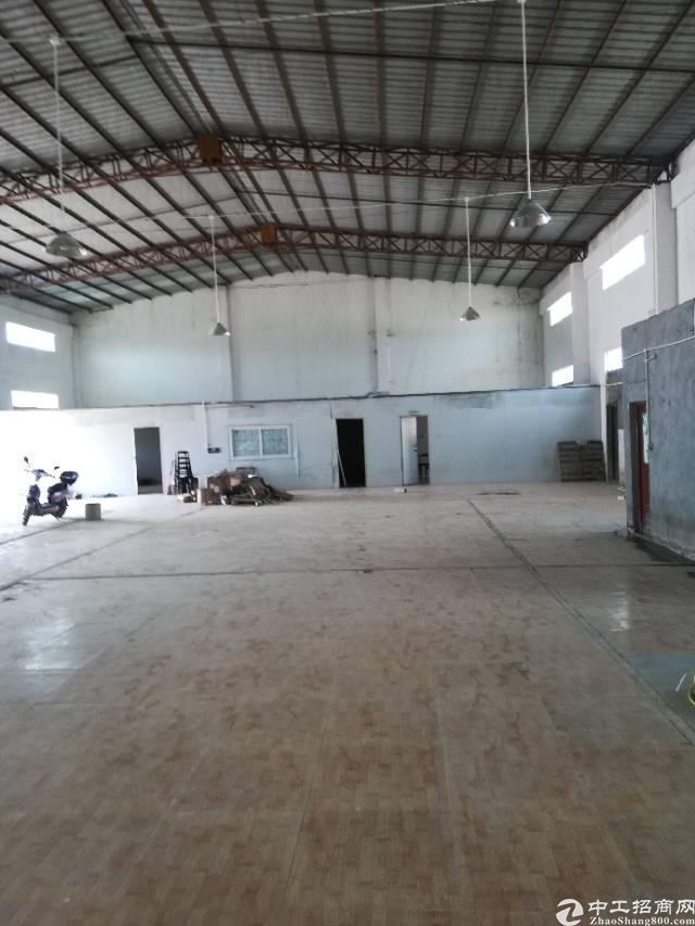 惠东县白花镇钢构厂房3000平出租
