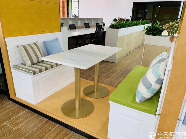 精装修写字楼办公室171平方带办公家私出租