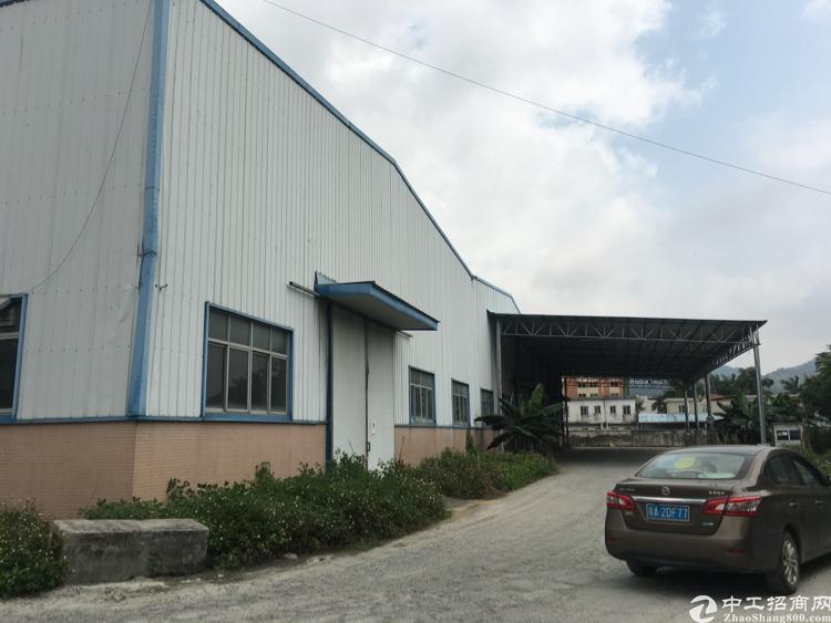 广州南沙区3500方简易厂房出租,丙类消防,靠近南沙港