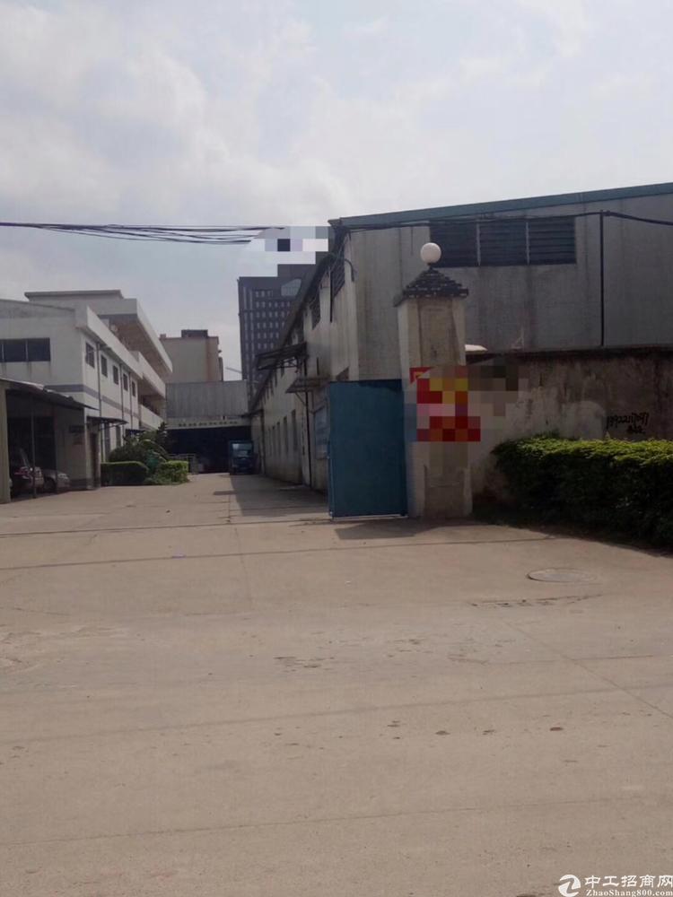惠州市博罗县新出4600平8米单一层钢结构厂房出租