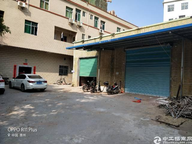 陈江镇仲恺六路边原房东小独院钢构厂房650平方