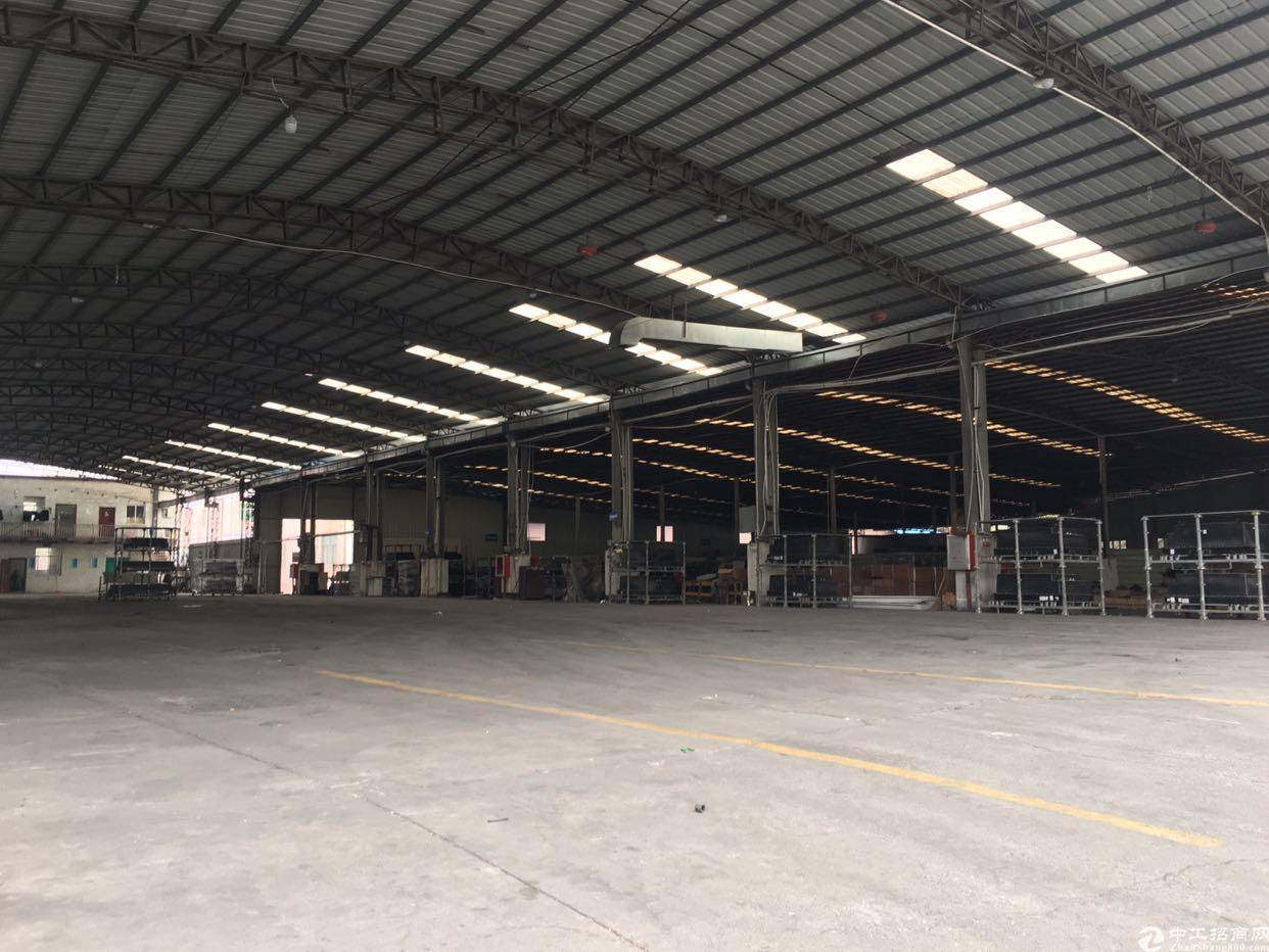 松岗松福大道边上新出一楼实际面积钢结构厂房