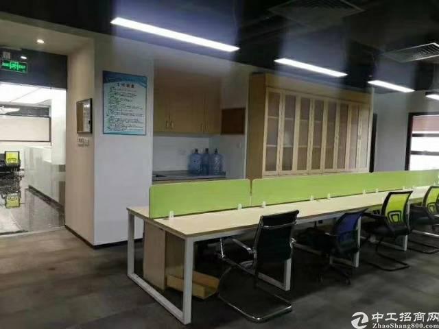 龙华地铁口新出精装办公室483.52平米,使用率70%