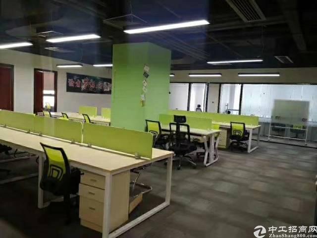 龙华地铁口精装办公室483.52平米,使用率70%