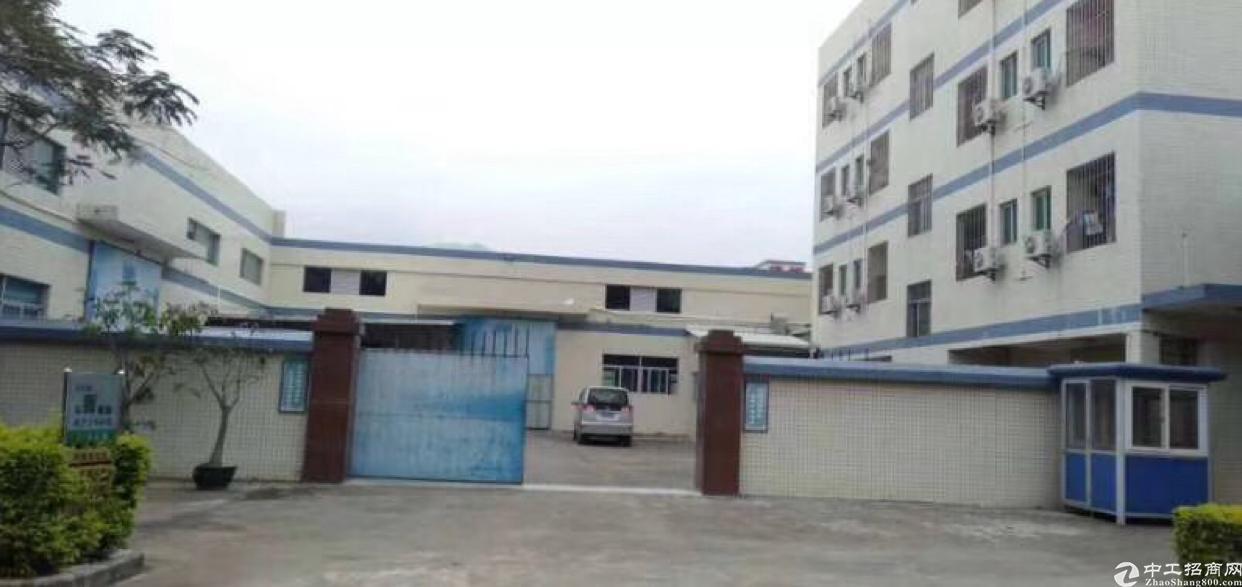 惠阳区沙田镇独院钢构厂房出租5600平方交通便利