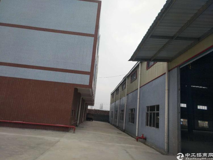 惠州全新滴水9米钢结构6000平方独院厂房出租原房东
