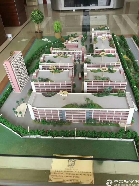 石岩水田带红本1~5层16000平方厂房出租,500起分