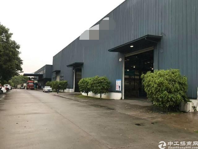增城区新塘镇独院单一层11米高厂房出租