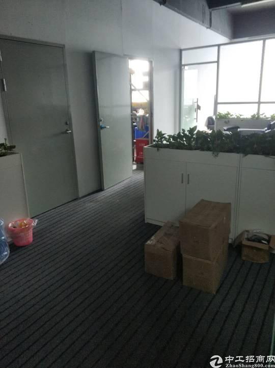 龙岗区横岗街道精装修办公室出租接近横岗地铁站-图3