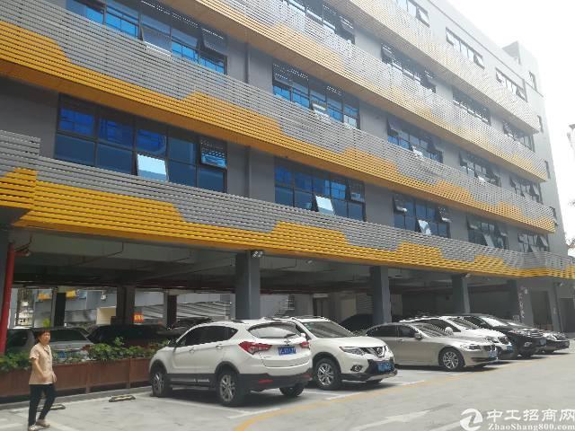 西乡固戍地铁口附近3750平厂改厂房出租,50平起分租