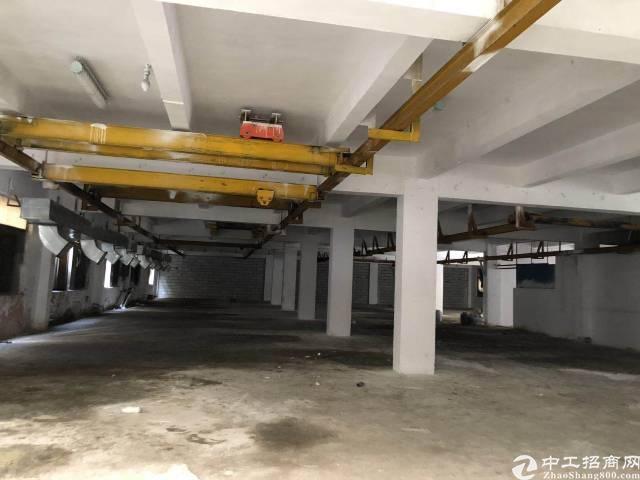 沙井南环路。宝安大道交界处一楼厂房600平,带水电
