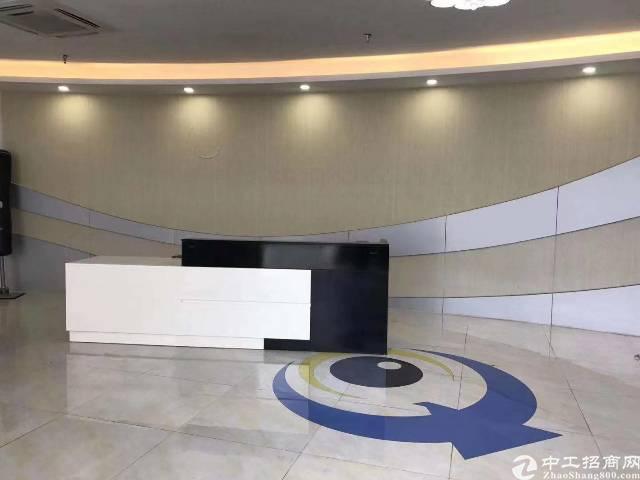 横岗地铁站200米!精装修办公楼2800平出租,无需转让费