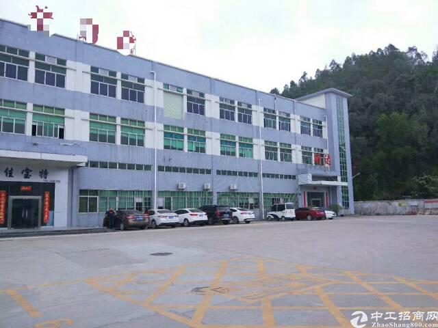 宝安沙井高速出口原房东楼上带装修厂房1350平方