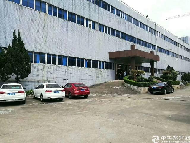虎门镇独院标准三层厂房36000平方,花园式院子,一楼6米高