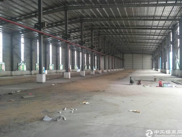100米长单一层独栋厂房4500平方带装修水电齐全