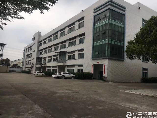 东莞虎门新空原房东独门独院花园式厂房30000平米,可办环评