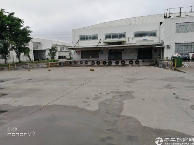 观澜清平高速出口,环观南路边新出标准物流仓库