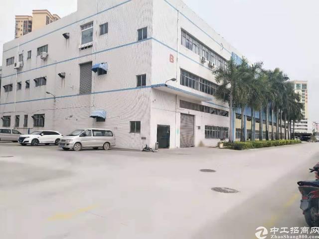 沙井东部107国道旁新出独门独院厂房6000平出租
