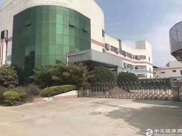 沙井东环路边新出楼上1500平带装修无尘车间