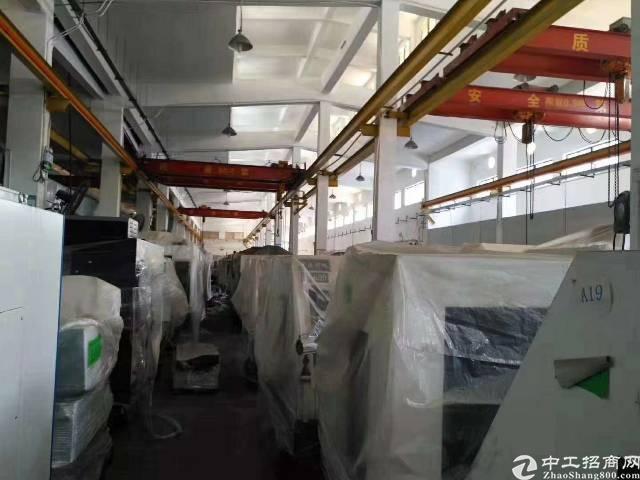 沙井107国道边独门独院钢构厂房7500平厂房出租
