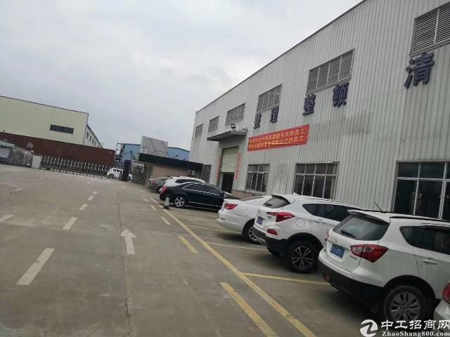 清溪原房东单一层钢构厂房面积2800平方招租,现成行车可用!