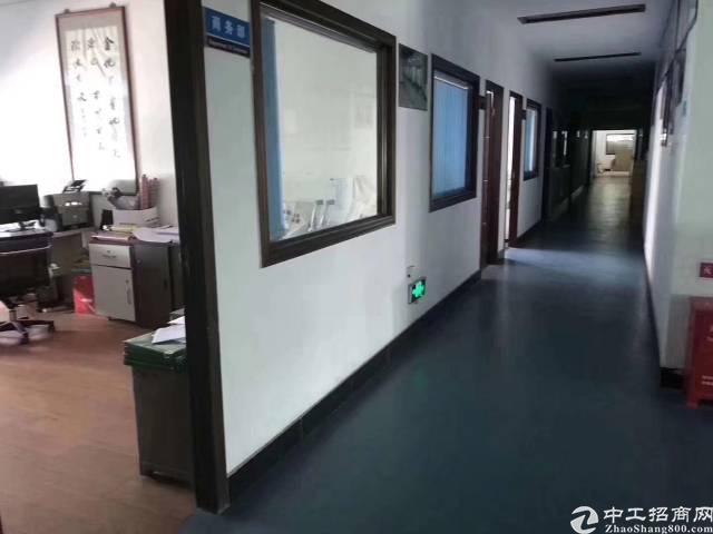 沙井后亭地铁口新出楼上厂房750,带装修办公室,水电