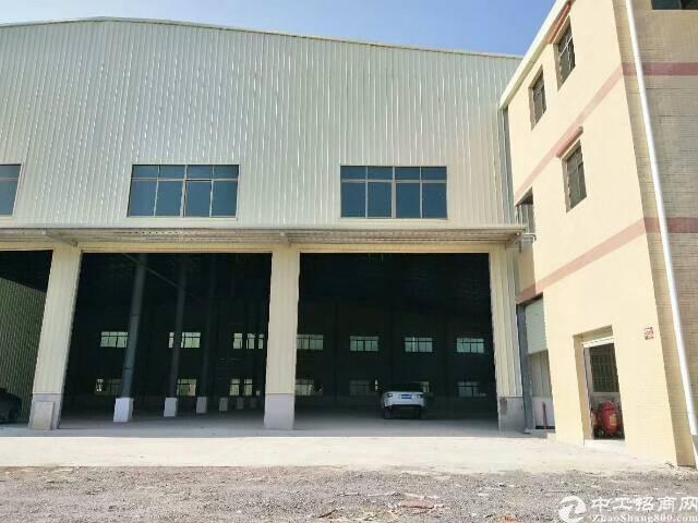 新出10米高钢构厂房1900平方