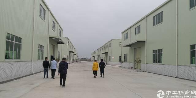 宝安区沙井独栋2500平米,国有红本产权厂房出租,超大空地