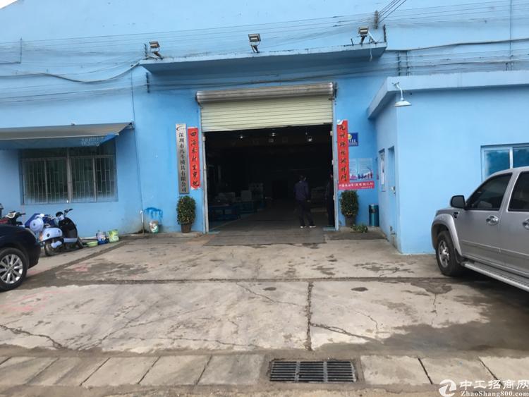 沙井107国道旁装修钢构厂房带行车出租.机加工数控