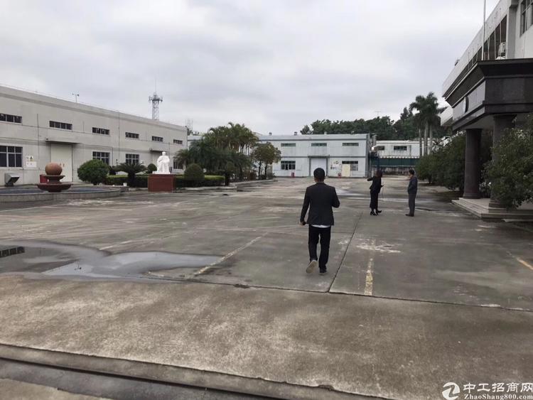 黄江镇大冚村工业区80000平米物流仓库招租好进车500起分