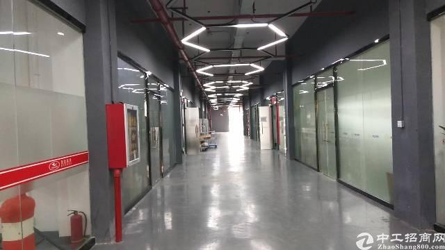 沙井后亭地铁口附近新出楼上356平米带装修厂房加写字楼出租