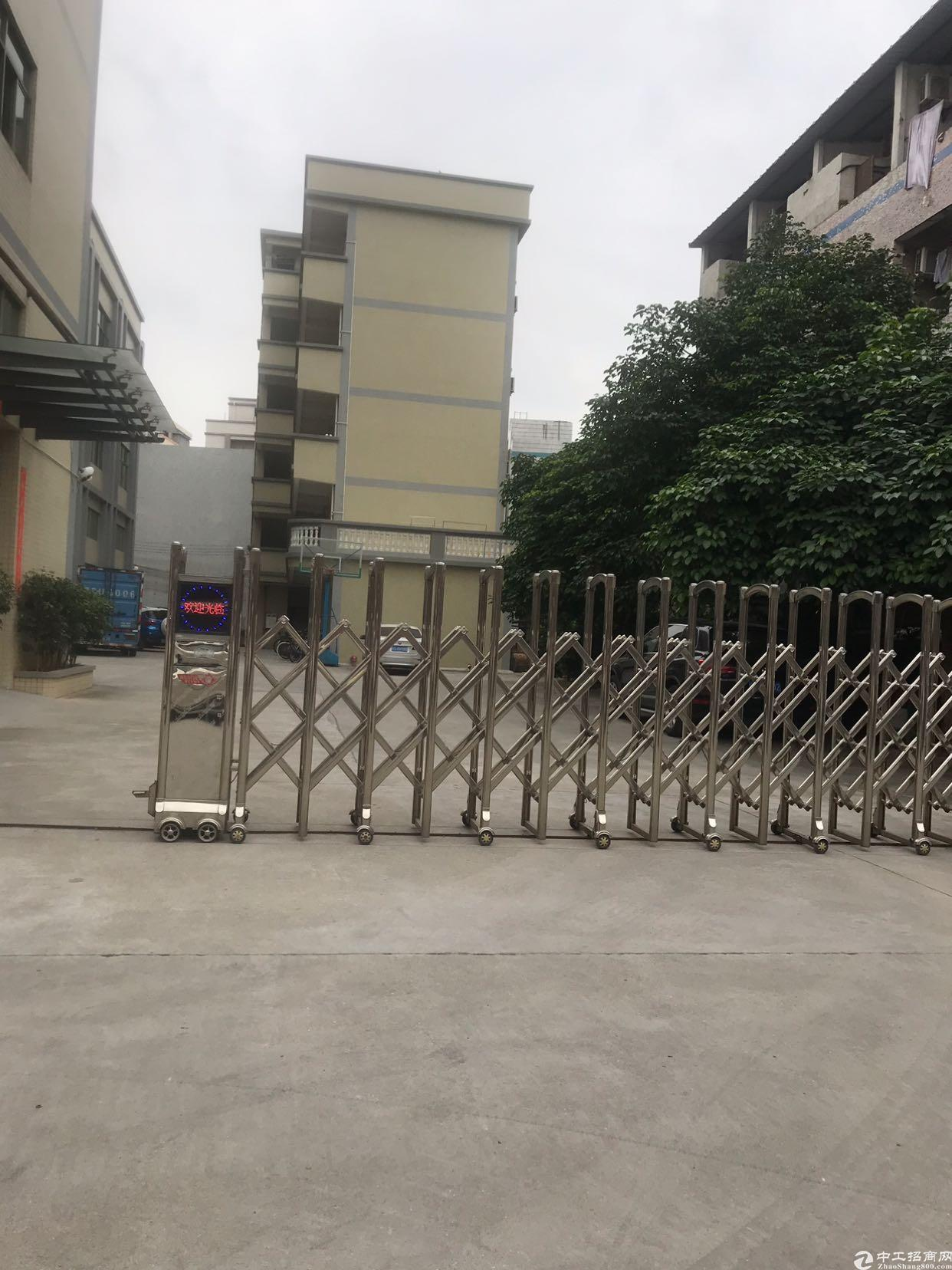 东莞清溪九成新国有证的厂房出售