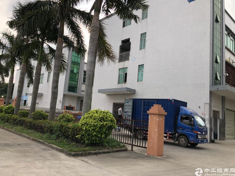 惠阳秋长原房东独栋标准厂房1800平,带装修现成水电