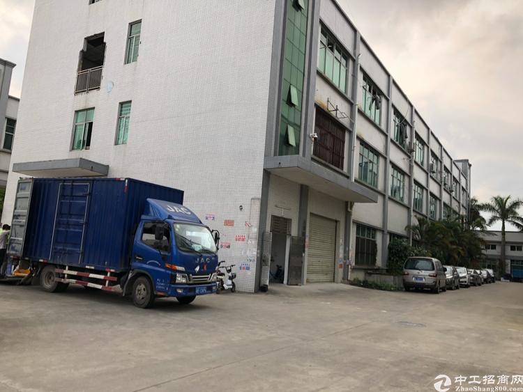 惠阳秋长原房东独栋厂房1/2楼2600平,有红本证件齐全,