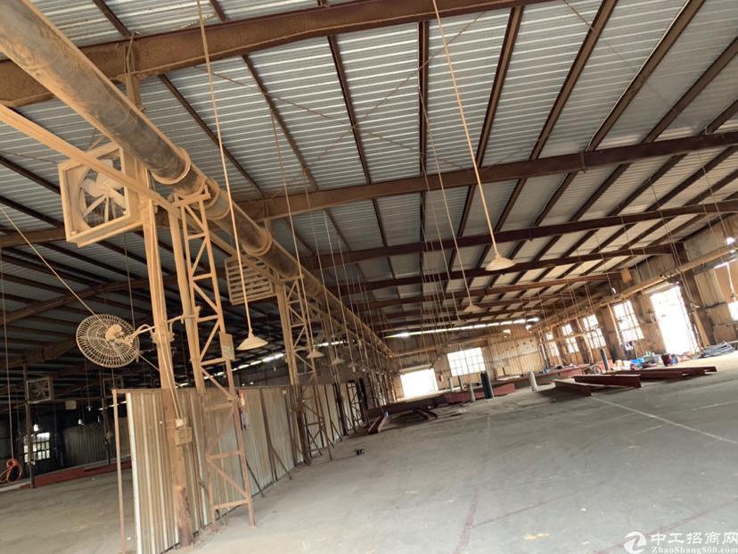 企石新出来大型行车钢结构厂房