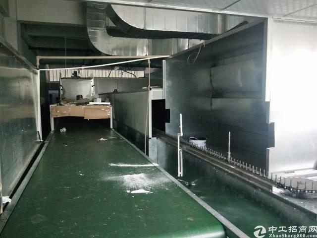 长安乌沙980平方带喷油设备厂房招租