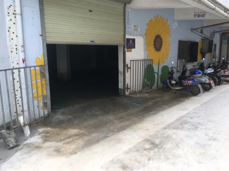 沙井沙四小面积一楼厂房!可以做仓库也可以生产