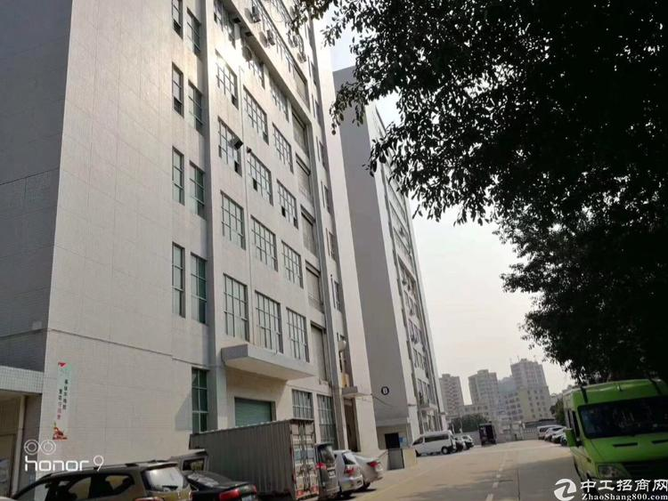 公明南光高速出口新出楼上2150平带无尘车间厂房招租
