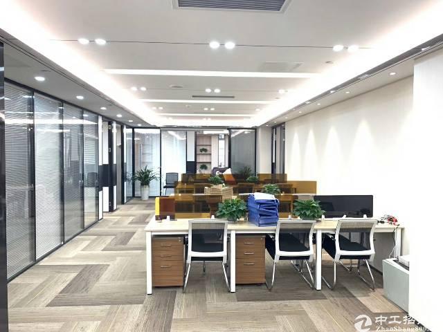 龙华清湖带装修甲级写字楼350平米出租