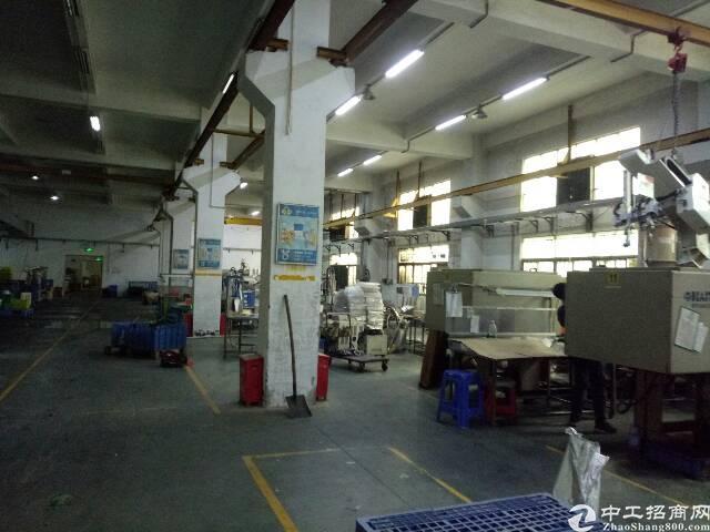 宝安沙井同富裕工业区1楼带行车厂房3200平方