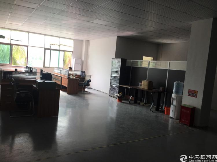 沙井107国道附近楼上800平米带装修厂房出租