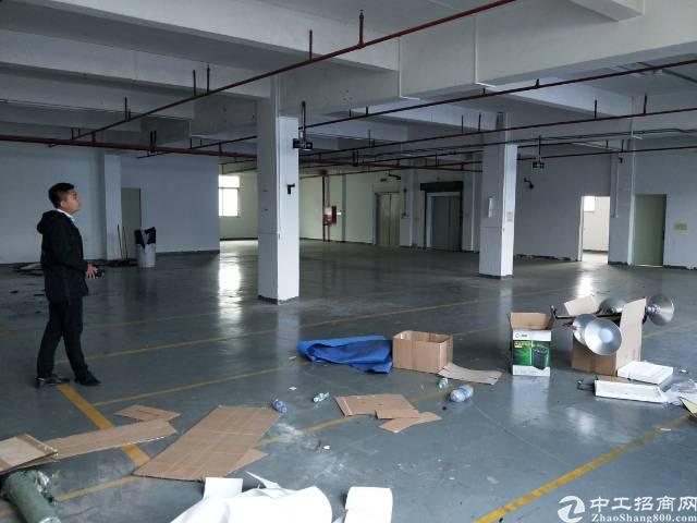 沙井后亭地铁站大型工业园区3楼600平方厂房出租
