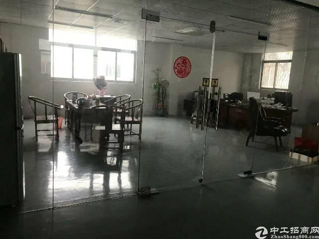 沙井南环路边整层1400平米精装修厂房出租