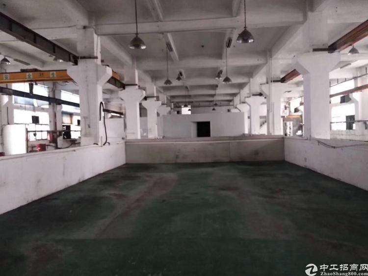 沙井一楼带行车厂房出租1550