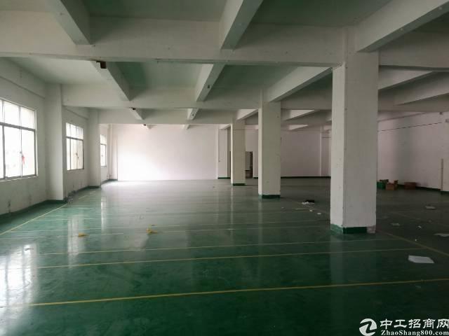 石岩南光高速出口处新出楼上2000平米带装修只租25元