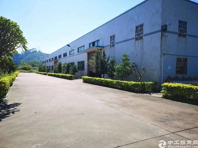 惠州博罗湖镇镇带现成2T行车厂房出租