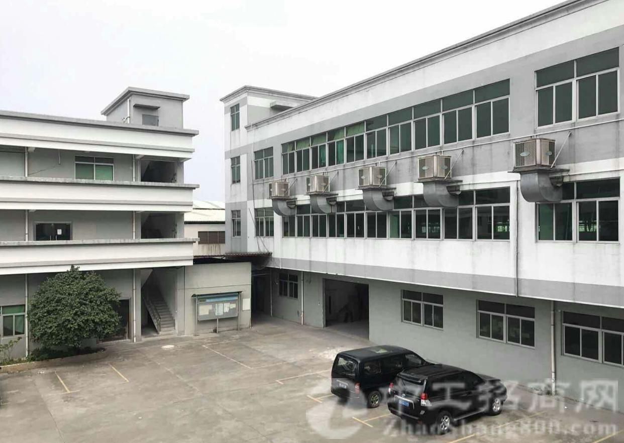 东莞虎门占地面积:7410m²优质国有厂房出售