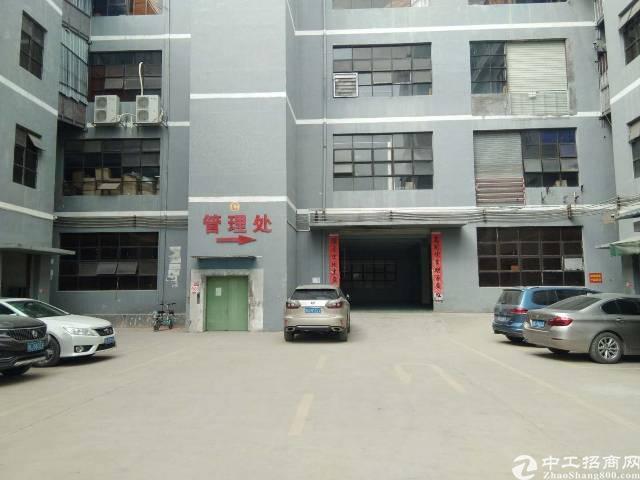 平湖富民工业区芳坑路厂房整层1900平,可分租
